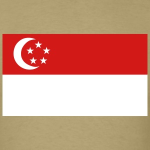 Flag of Singapore T-Shirts - Men's T-Shirt