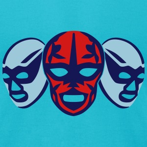 Lucha Libre Masks T-Shirts - Men's T-Shirt by American Apparel