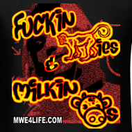 Design ~ F'n Monkies Scooby  T-Shirt