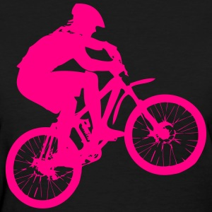 Mountainbiker Women's T-Shirts - Women's T-Shirt