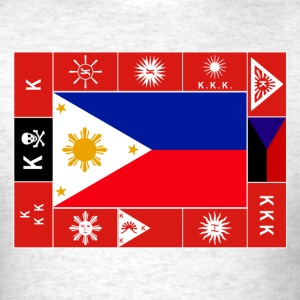 Philippine Flags Mens Filipino Tshirt - Men's T-Shirt