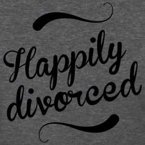 Happily divorced - Women's T-Shirt