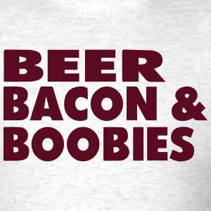 BEER BEACON & BOOBIES T-Shirts - Men's T-Shirt