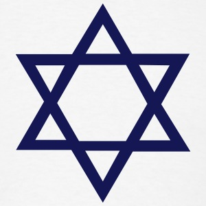 Star of David T-Shirts - Men's T-Shirt