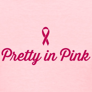 Pretty in Pink RIbbon Women's T-Shirts - Women's T-Shirt