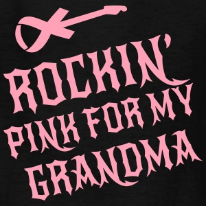 Rockin Pink for my Grandma Kids' Shirts - Kids' T-Shirt