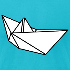 Origami paper ship boat T-Shirts