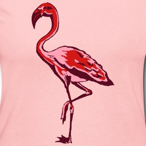 flamingo Long Sleeve Shirts - Women's Long Sleeve Jersey T-Shirt