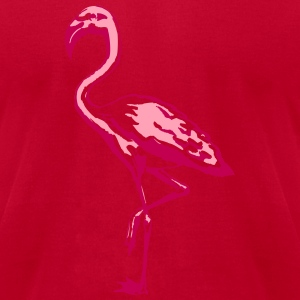 flamingo T-Shirts - Men's T-Shirt by American Apparel