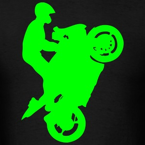 Streetbike Wheely T-Shirts - Men's T-Shirt