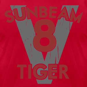 Sunbeam V8 Tiger Cars T-Shirts - Men's T-Shirt by American Apparel