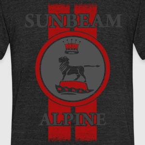 Sunbeam Alpine Racing T-Shirts - Unisex Tri-Blend T-Shirt by American Apparel