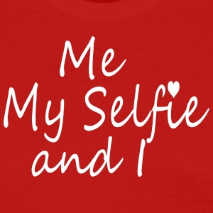 ME MY SELFIE AND I - Women's T-Shirt