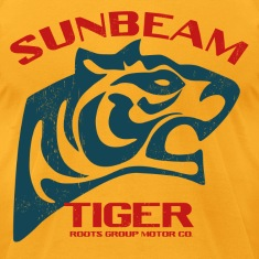 Sunbeam Tiger Cars T-Shirts