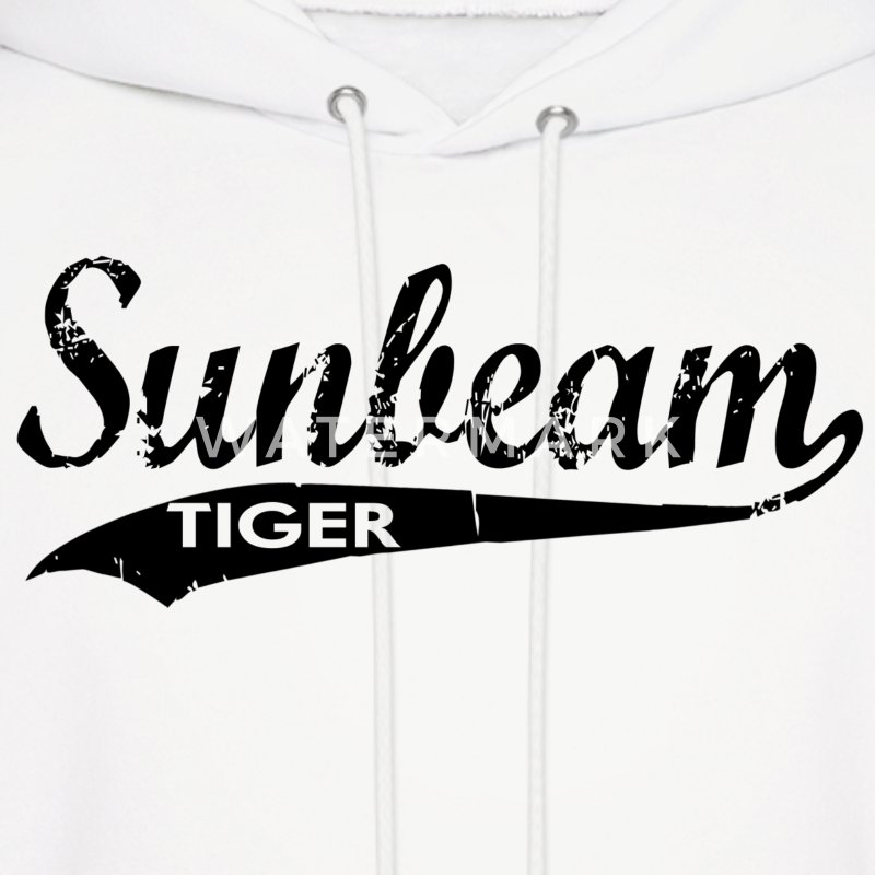 Sunbeam Tiger Cars Hoodies - Men's Hoodie