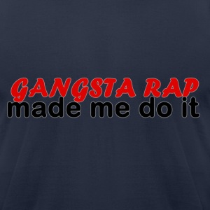 Gangsta Rap Tee - Men's T-Shirt by American Apparel