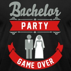 Bachelor Party Game Over T-Shirts