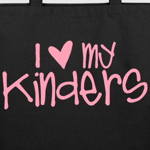 I Love My Kinders Bags & backpacks - Eco-Friendly Cotton Tote