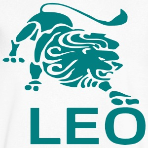 LEO T-Shirts - Men's V-Neck T-Shirt by Canvas