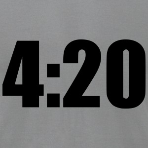 4:20 T-Shirts - Men's T-Shirt by American Apparel