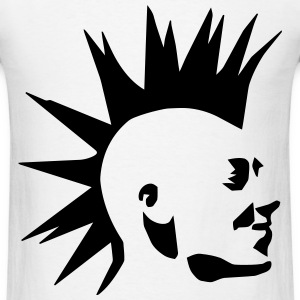 Punk Mohawk T-Shirts - Men's T-Shirt