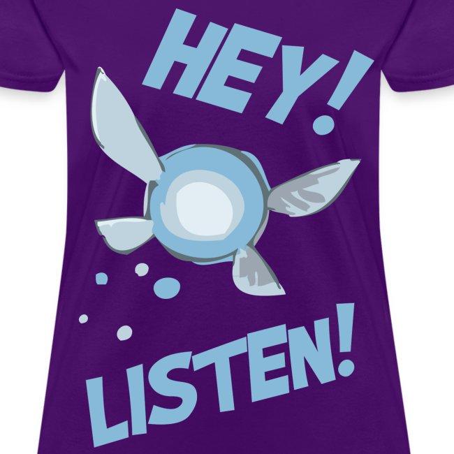 Hey Listen Navi Shirt