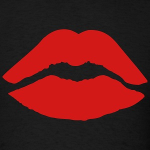 Lipstick Kiss T-Shirts - Men's T-Shirt