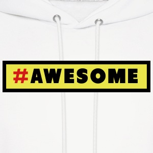 Awesome Hashtag Hoodies - Men's Hoodie