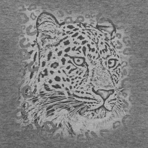 transparent leopard  Long Sleeve Shirts - Women's Wideneck Sweatshirt