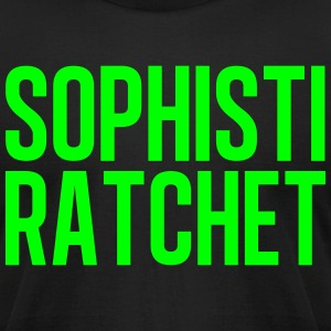 Ratchet Neon Green - Men's T-Shirt by American Apparel