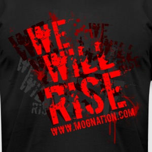 We Will Rise T - Men's T-Shirt by American Apparel