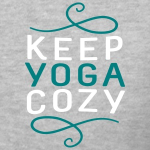 Keep Yoga Cozy - Classic V-Neck - Women's V-Neck T-Shirt