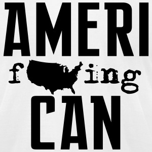 Ameri-can - Men's T-Shirt by American Apparel