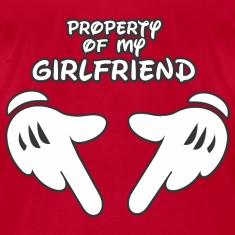Property of my Girlfriend t-shirt