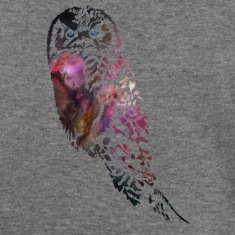 Galactic Owl Long Sleeve Shirts