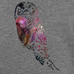 Galactic Owl Long Sleeve Shirts - Women's Wideneck Sweatshirt