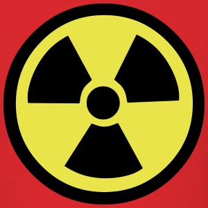 Warning Symbol for Radioactivity T-Shirts - Men's T-Shirt