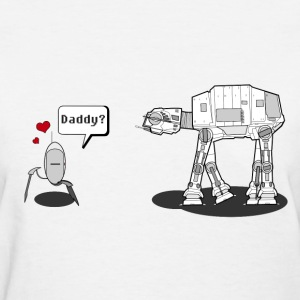 Daddy Robot - Star Wars Women's T-Shirts - Women's T-Shirt