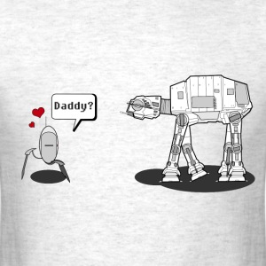 Daddy Robot - Star Wars T-Shirts - Men's T-Shirt