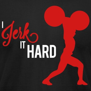 Hard Jerk Tee (Black) - Men's T-Shirt by American Apparel