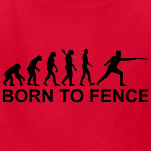 Evolution Fencing Kids' Shirts - Kids' T-Shirt