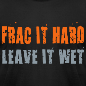 Design ~ Frac it hard - T-shirt