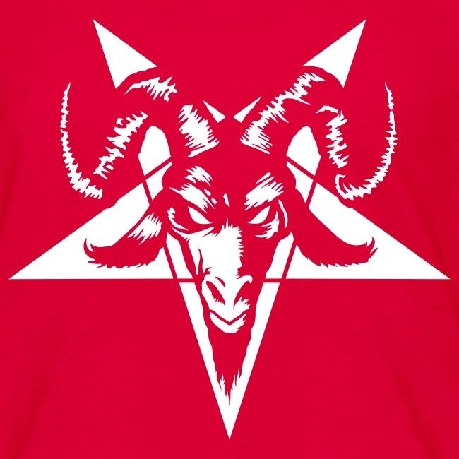 Mysticisland Shirtshop Goat Head With Pentagram Inverted