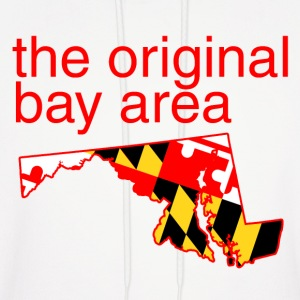 maryland: the original bay area Hoodies - Men's Hoodie