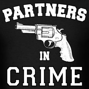 Partners In Crime Right T-Shirts - Men's T-Shirt