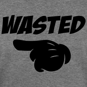 wasted - Women's Wideneck Sweatshirt