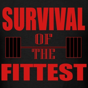 Survival of the Fittest T-Shirts - Men's T-Shirt