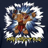 Design ~ Mini Minotaur (Dark Shirt Design)