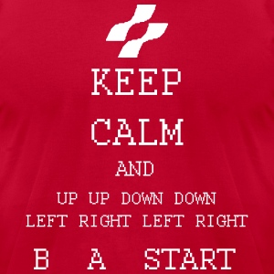 Arcade Keep Calm Amiga Atari  Gamer T-Shirts - Men's T-Shirt by American Apparel