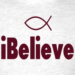 iBelieve-Christian T-Shirts - Men's T-Shirt